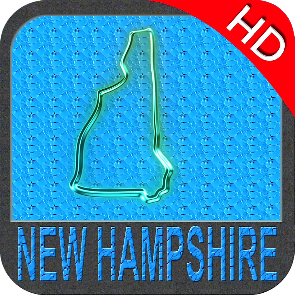 New Hampshire nautical chart HD